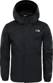 The North Face Resolve Rain Jacket Boys, blue wing teal